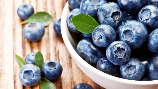 food and depression , blueberries