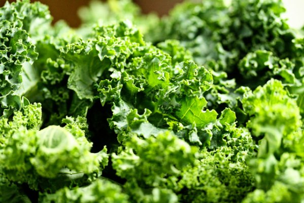 kale, food and depression
