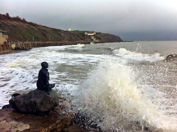 Folkestone beach