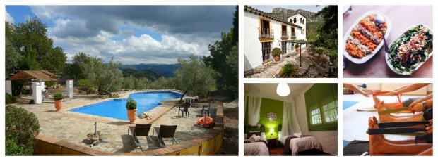 nature and hiking yoga retreat in spain , andalucia