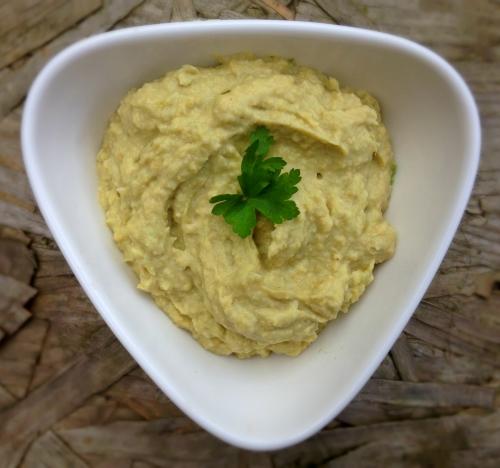 Avocado and Asparagus Hummus