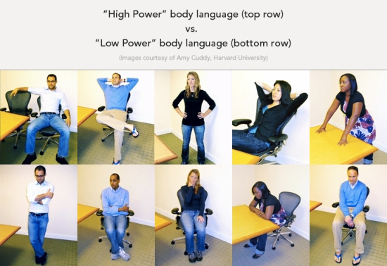 body language and power posing benefits