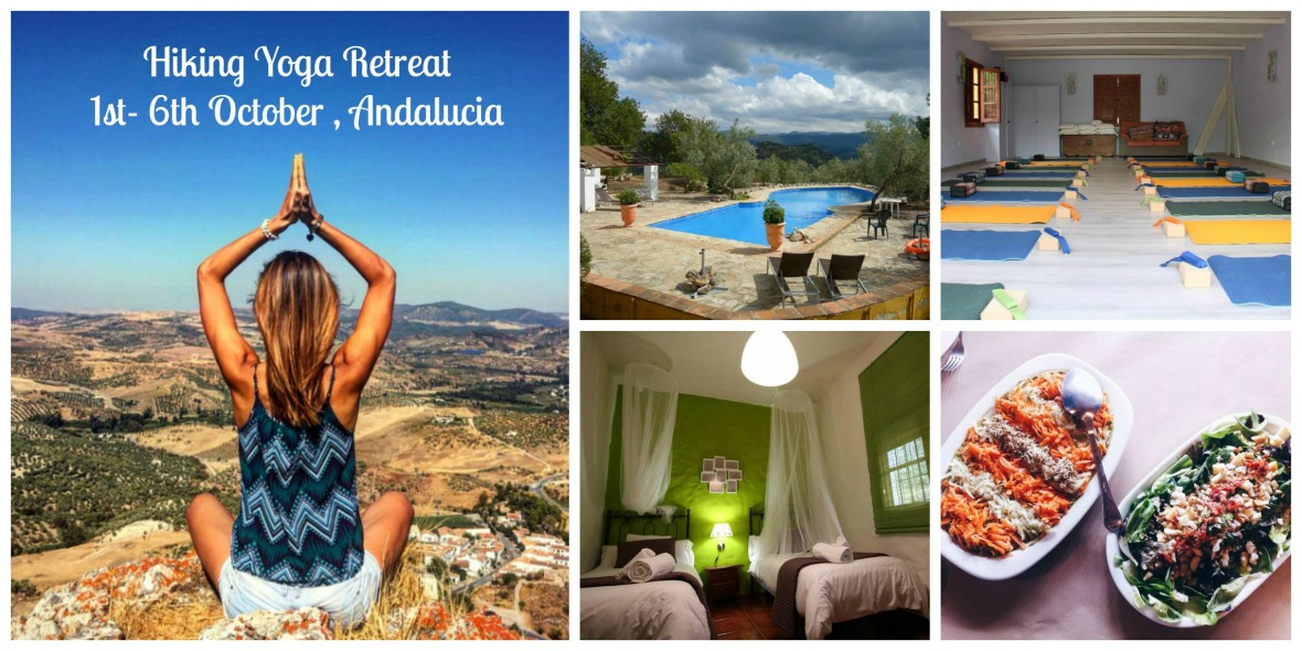 nature and hiking yoga retreat in Andalusia, spain