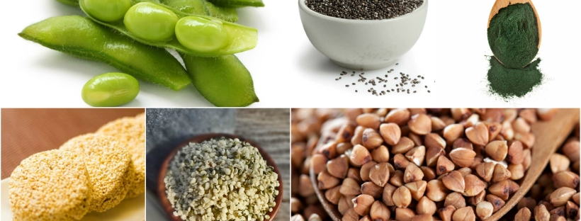 complete proteins for vegans and vegetarians