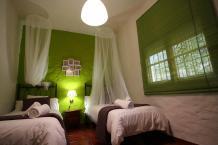 03Bed room Grazalema Retreat Center