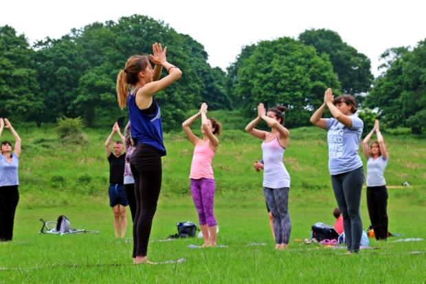 nora draganova yoga in london
