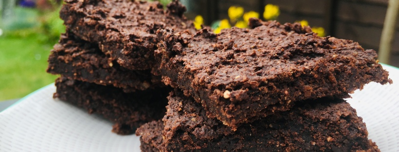 vegan chickpea brownies
